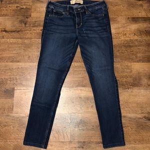 Blue Hollister Skinny Jeans (Size 27//Size 4)
